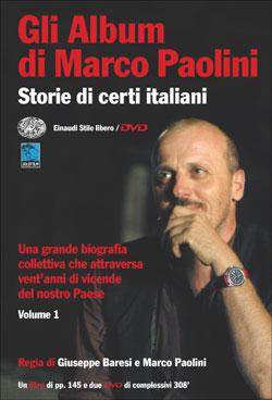 Copertina del libro Gli Album di Marco Paolini. Volume 1 di Marco Paolini