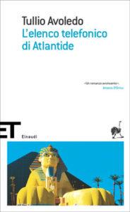 Copertina del libro L'elenco telefonico di Atlantide di Tullio Avoledo