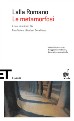 Copertina del libro Le metamorfosi di Lalla Romano
