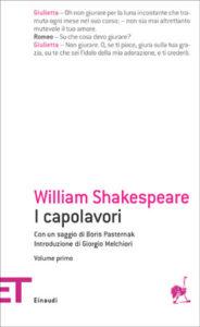 Copertina del libro I capolavori. Volume primo di William Shakespeare