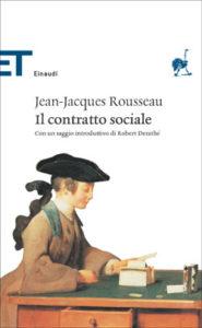 Copertina del libro Il contratto sociale di Jean-Jacques Rousseau