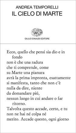 Copertina del libro Il cielo di Marte di Andrea Temporelli
