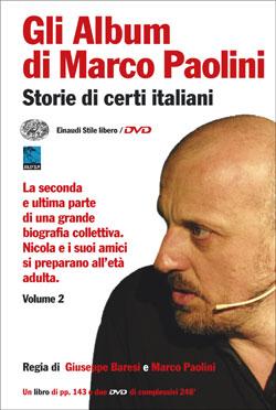 Copertina del libro Gli Album di Marco Paolini di Marco Paolini