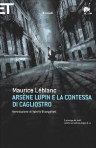 Copertina del libro Arsène Lupin e la contessa di Cagliostro di Maurice Leblanc