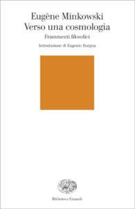 Copertina del libro Verso una cosmologia di Eugène Minkowski