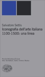 Copertina del libro Iconografia dell'arte italiana 1100-1500: una linea di Salvatore Settis