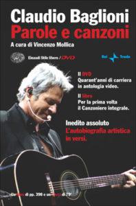 Copertina del libro Parole e canzoni di Claudio Baglioni
