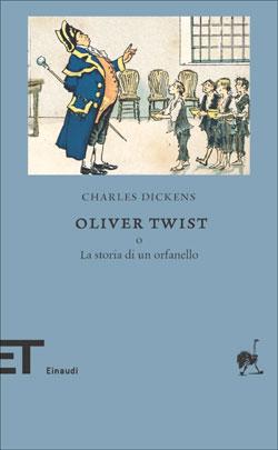 Copertina del libro Oliver Twist di Charles Dickens