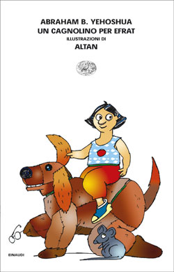 Copertina del libro Un cagnolino per Efrat di Abraham B. Yehoshua