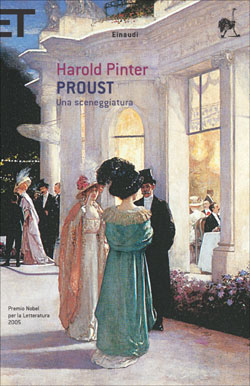 Copertina del libro Proust di Harold Pinter