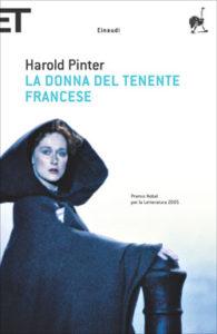Copertina del libro La donna del tenente francese di Harold Pinter