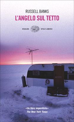 Copertina del libro L'angelo sul tetto di Russell Banks