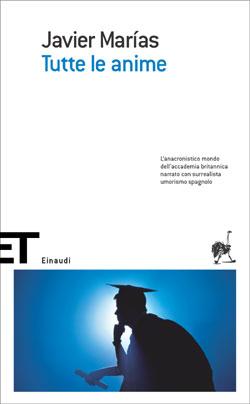 Copertina del libro Tutte le anime di Javier Marías