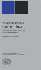 Copertina del libro Il genio in fuga di Alessandro Baricco