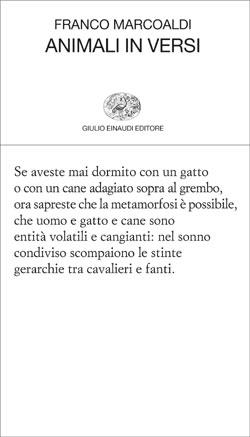 Copertina del libro Animali in versi di Franco Marcoaldi