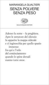 Copertina del libro Senza polvere senza peso di Mariangela Gualtieri