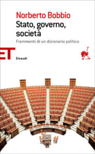 Copertina del libro Stato, governo, società di Norberto Bobbio