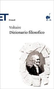 Copertina del libro Dizionario filosofico di Voltaire