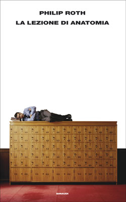 Copertina del libro La lezione di anatomia di Philip Roth