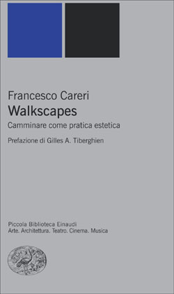 Copertina del libro Walkscapes di Francesco Careri