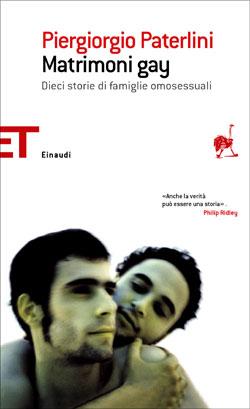 Copertina del libro Matrimoni gay di Piergiorgio Paterlini