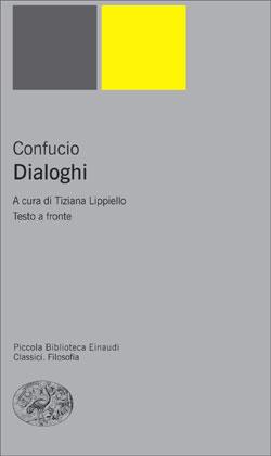 Copertina del libro Dialoghi di Confucio