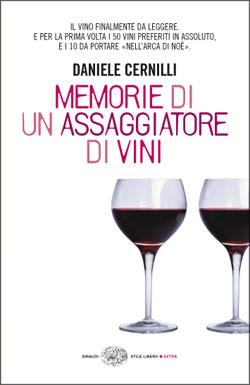 Copertina del libro Memorie di un assaggiatore di vini di Daniele Cernilli