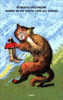 Copertina del libro Diario di un gatto con gli stivali di Roberto Vecchioni