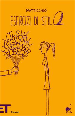 Copertina del libro Esercizi di stilo di Franco Matticchio