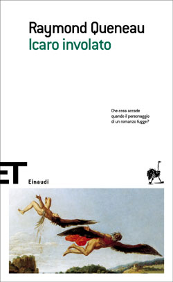 Copertina del libro Icaro involato di Raymond Queneau