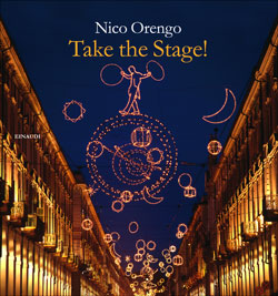 Copertina del libro Take the Stage! di Nico Orengo