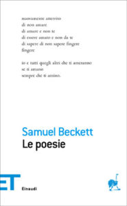 Copertina del libro Le poesie di Samuel Beckett