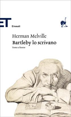 Copertina del libro Barthleby lo scrivano di Herman Melville