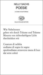Copertina del libro Poesie di Nelly Sachs
