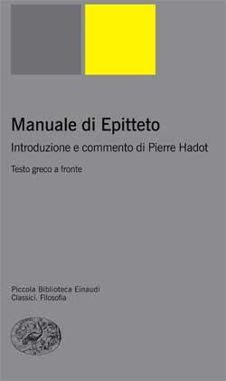 Copertina del libro Manuale di Epitteto di Epitteto