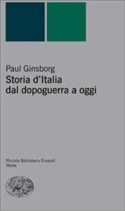 Copertina del libro Storia d'Italia dal dopoguerra a oggi di Paul Ginsborg