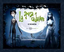 Copertina del libro La sposa cadavere di Tim Burton di VV.