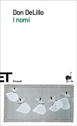 Copertina del libro I nomi di Don DeLillo