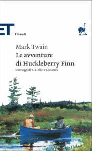 Copertina del libro Le avventure di Huckleberry Finn di Mark Twain