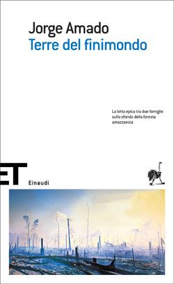 Copertina del libro Terre del finimondo di Jorge Amado