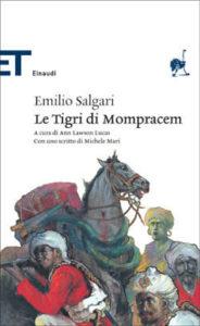 Copertina del libro Le Tigri di Mompracem di Emilio Salgari