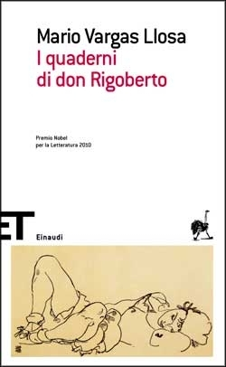Copertina del libro I quaderni di don Rigoberto di Mario Vargas Llosa