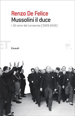 Copertina del libro Mussolini il duce. I di Renzo De Felice