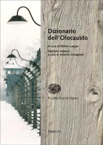 Copertina del libro Dizionario dell'Olocausto di VV.