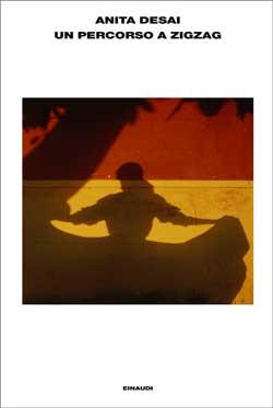 Copertina del libro Un percorso a zigzag di Anita Desai