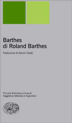 Copertina del libro Barthes di Roland Barthes di Roland Barthes