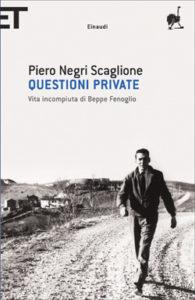 Copertina del libro Questioni private di Piero Negri Scaglione