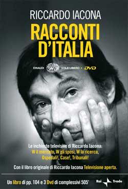Copertina del libro Racconti d'Italia di Riccardo Iacona