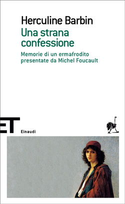 Copertina del libro Una strana confessione di Herculine Barbin