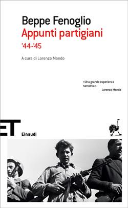 Copertina del libro Appunti partigiani '44-'45 di Beppe Fenoglio
